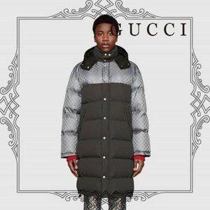 BRAND NEW GUCCI - Gg Jacquard Nylon Jacket